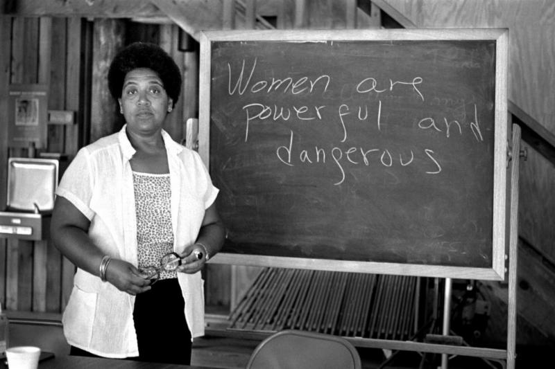 Audre Lorde writes Women are powerful and dangerous