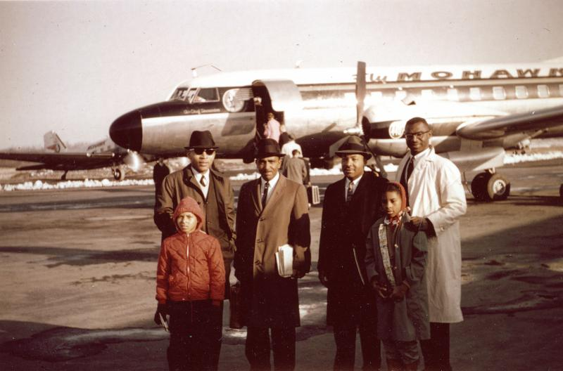 Dr. MLK visits Ithaca ca. 1960
