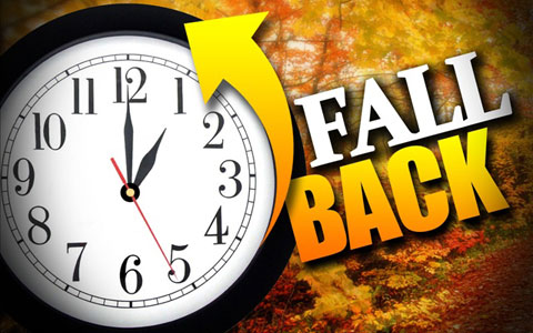 clock back