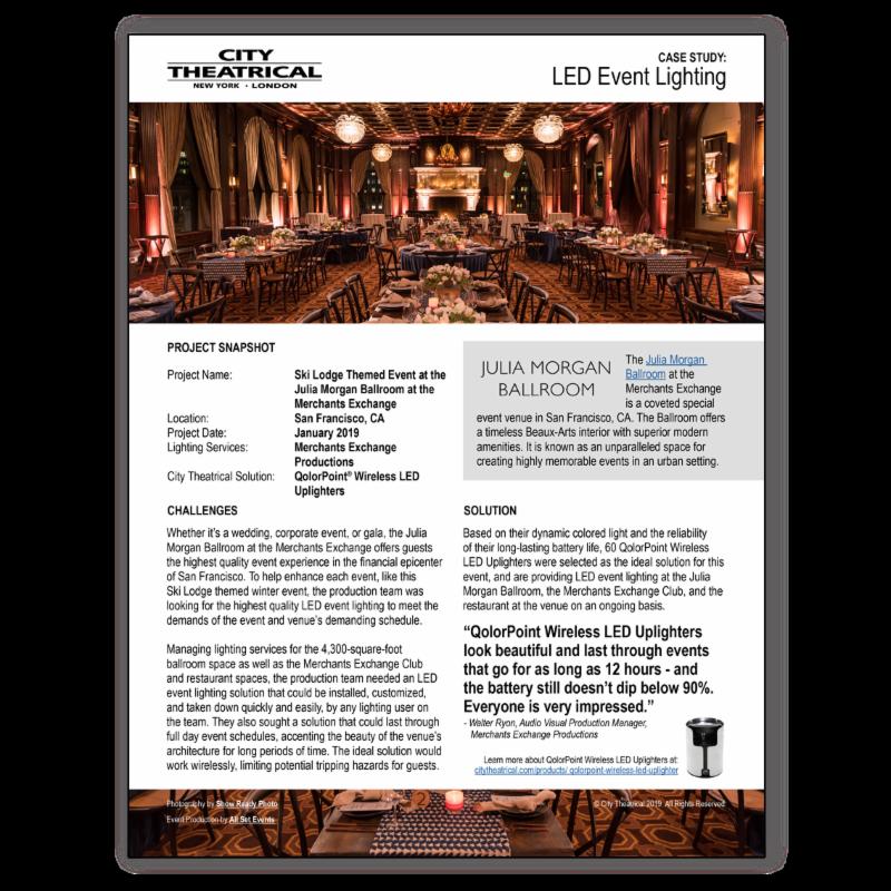 QolorPoint case study_ Julia Morgan Ballroom at Merchants Exchange