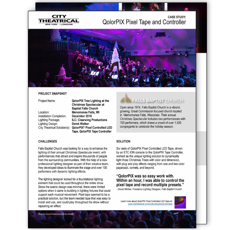 QolorPIX Case Study_ Falls Baptist Church