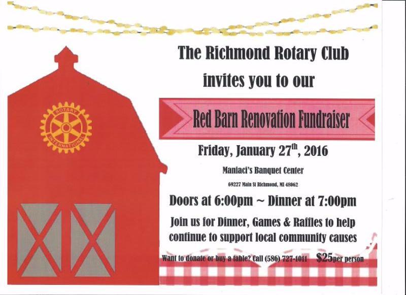 Richmond Rotary Red Barn Fundraiser