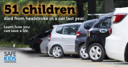 children die in hot cars