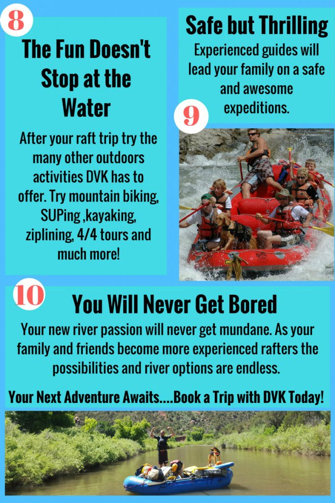 10 Reasons to make Rafting Your Next Family Vacation