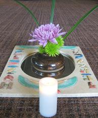 Kripalu July 2014 altar