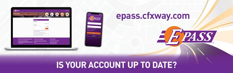 E-PASS Account Update