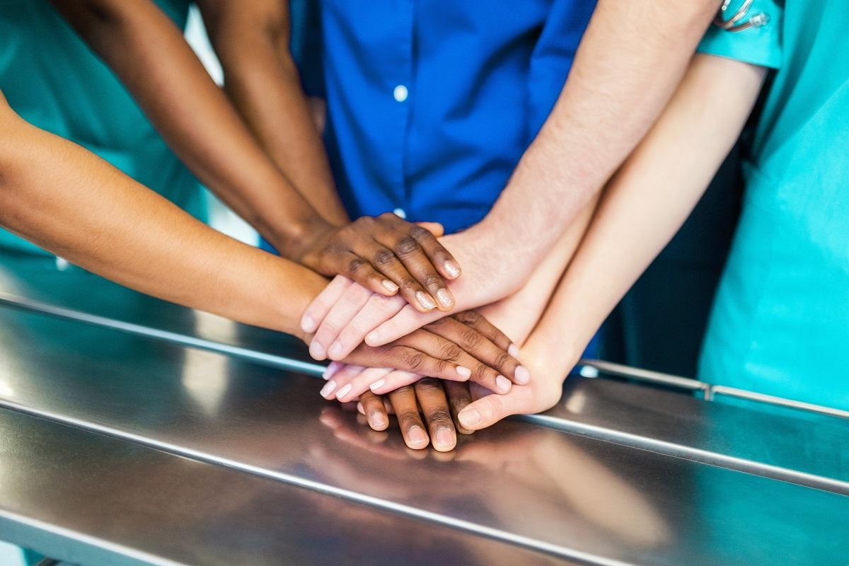hands diverse