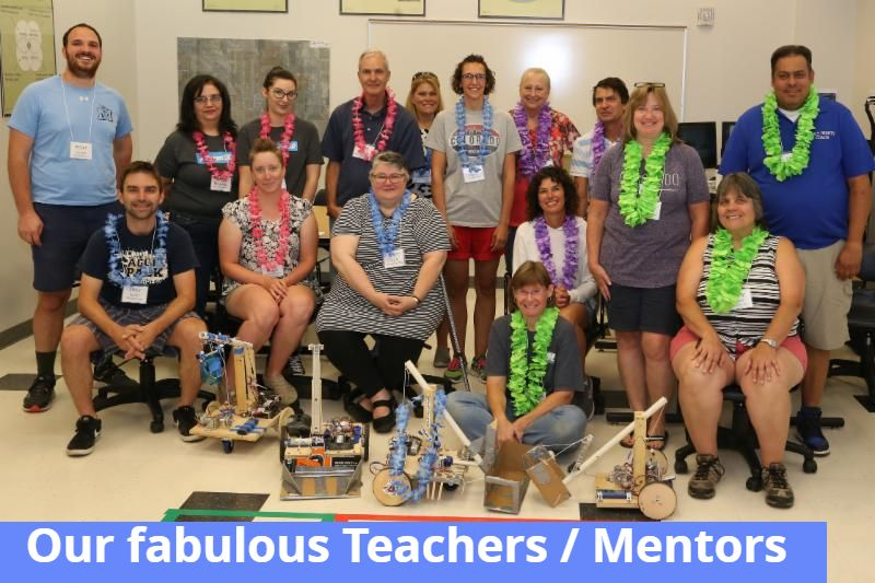 2019 TMI Participants   Robots