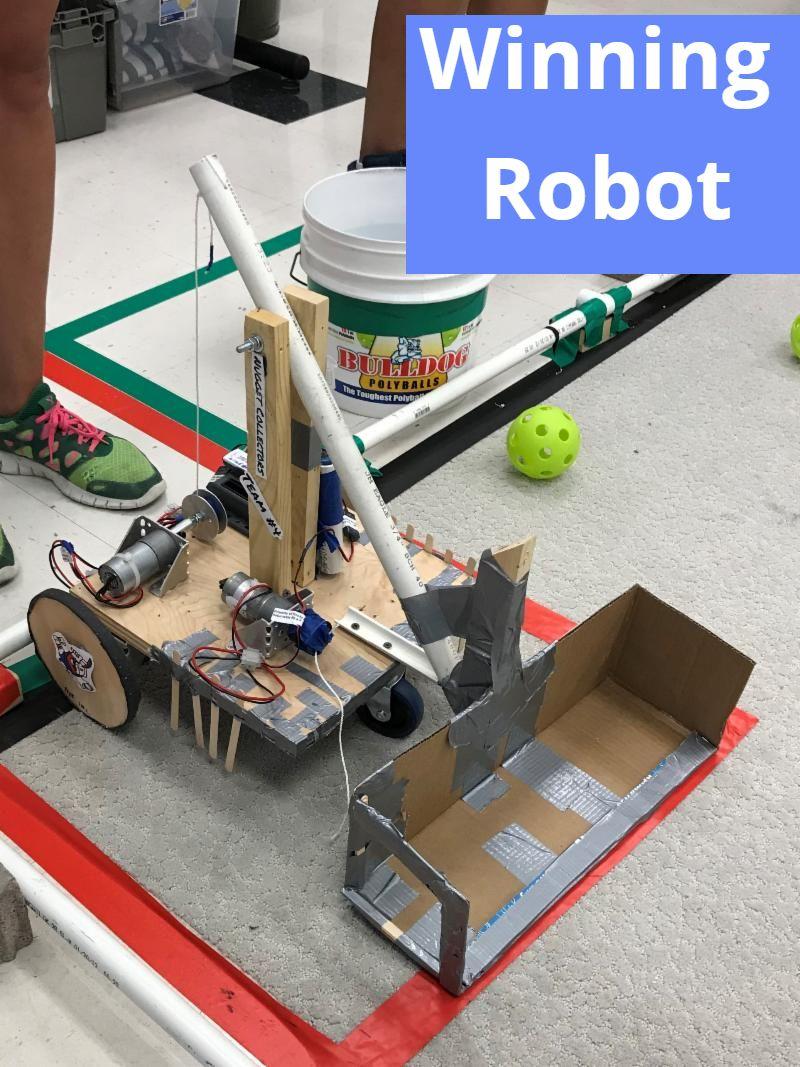 2019 TMI Winning Robot