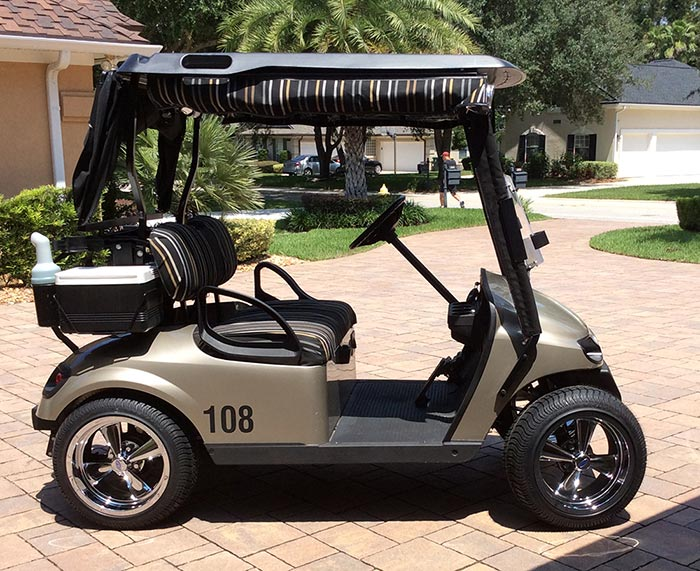 10 Inch Wheels For Golf Cart : Look at these cool cargar wheels for golf carts
