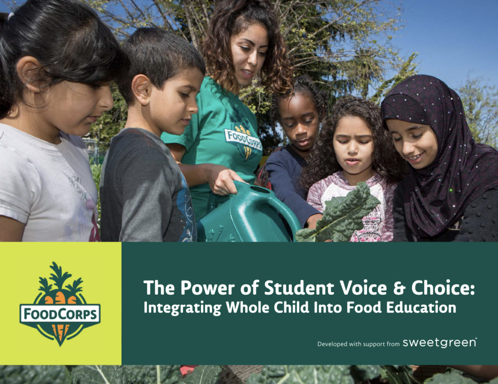 The Power of Student Voice & Choice Integrating Whole Child into Food Education
