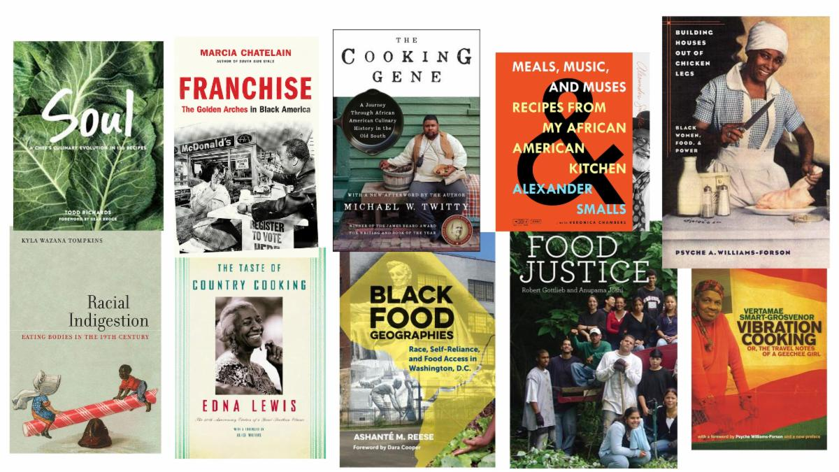 Books featured on the Epicurious food and race reading list