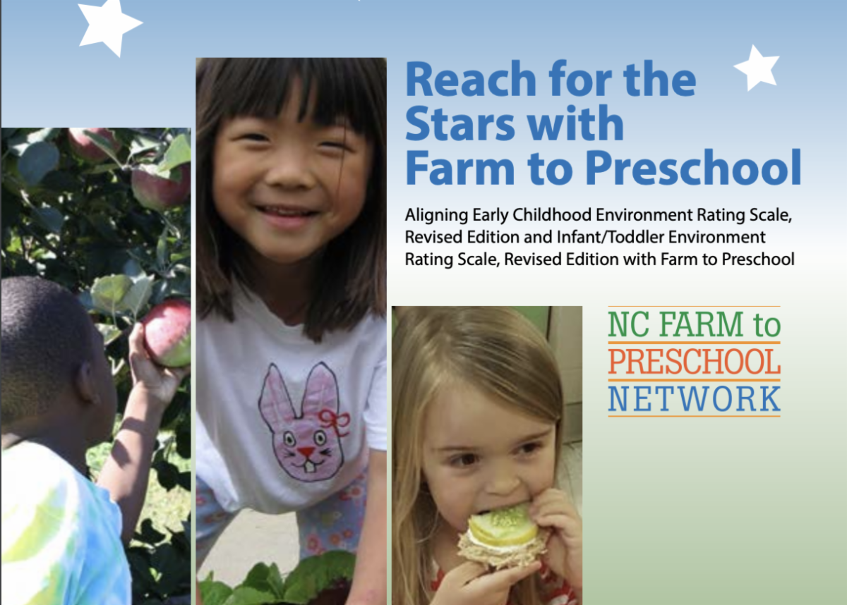 Cover of Reach for the Stars with Farm to Preschool
