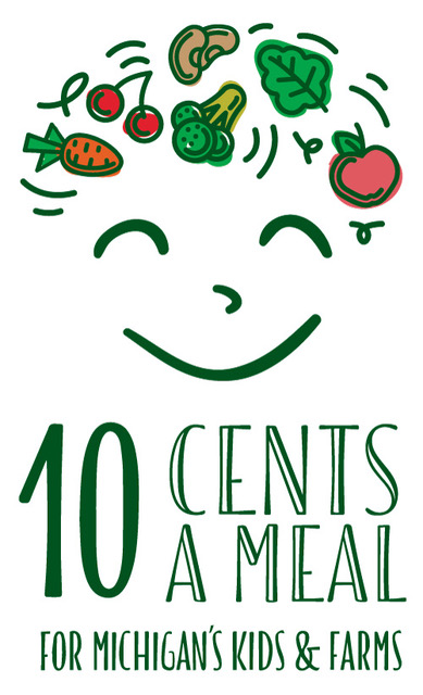 10 Cents a Meal for Michigan's Kids and Farms