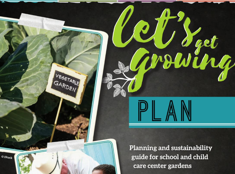 "Cover of ""Let's Get Growing"""