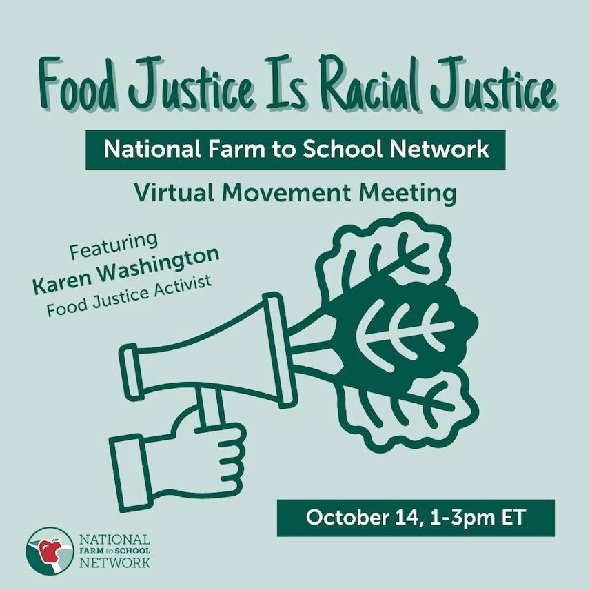 Food Justice is Racial Justice