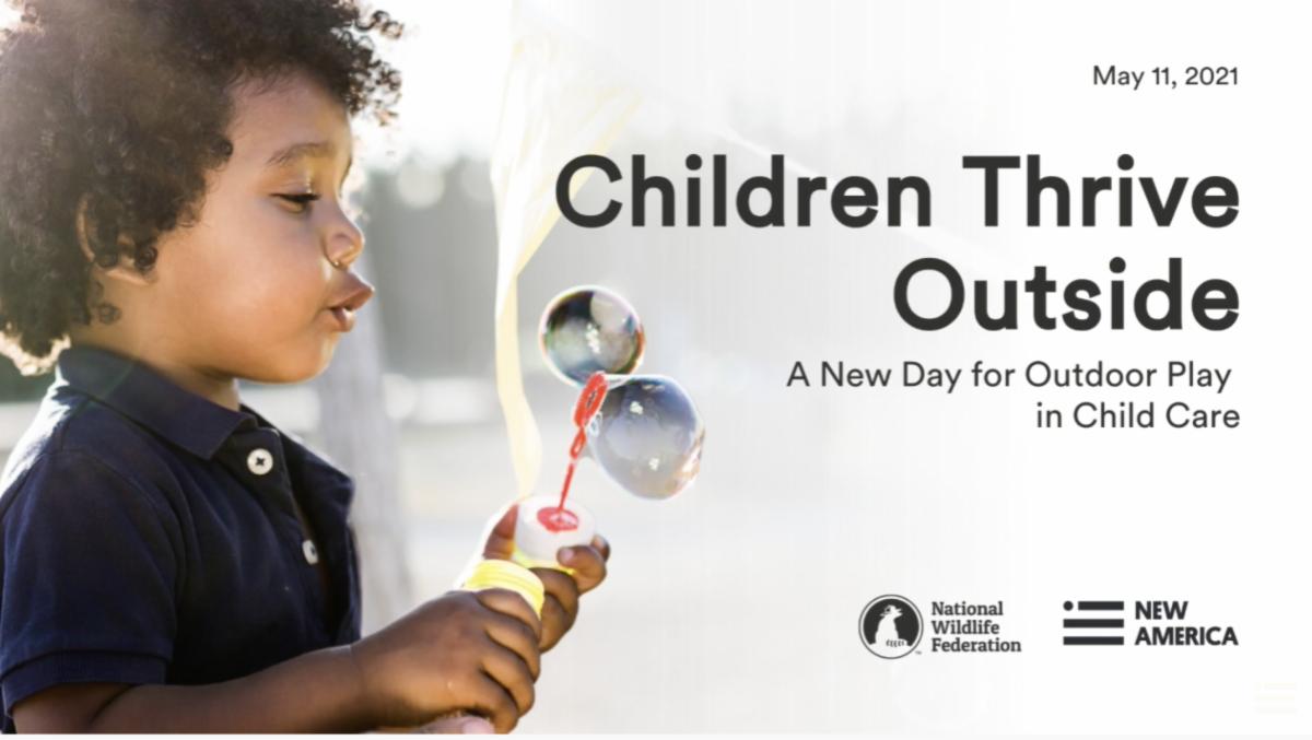 Children Thrive Outside webinar thumbnail