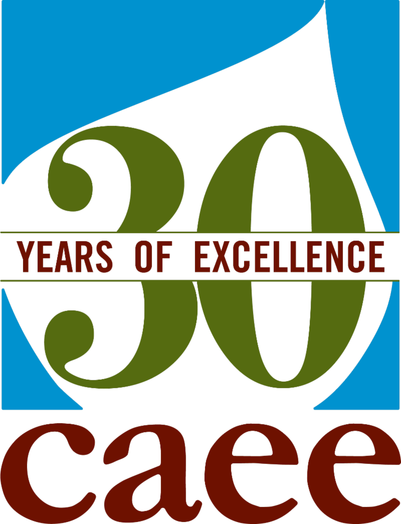 CAEE 30th logo color