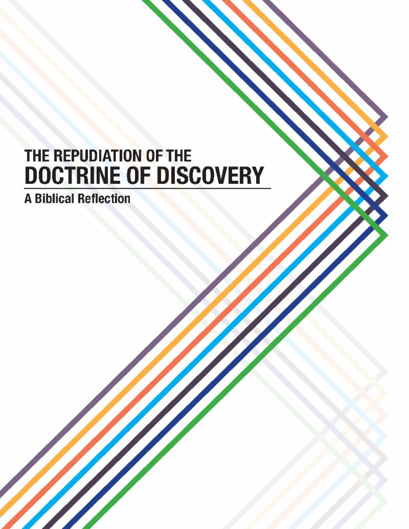 Doctrine of Discovery study manual image