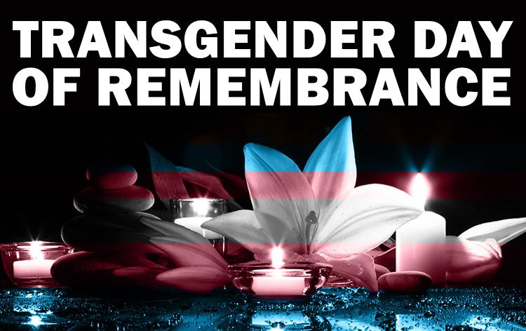 Transgender day of remembrance image
