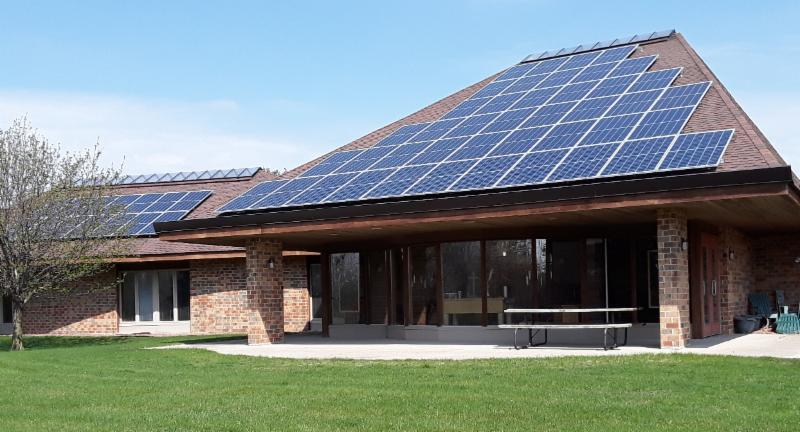 wisconsin conference solar array image