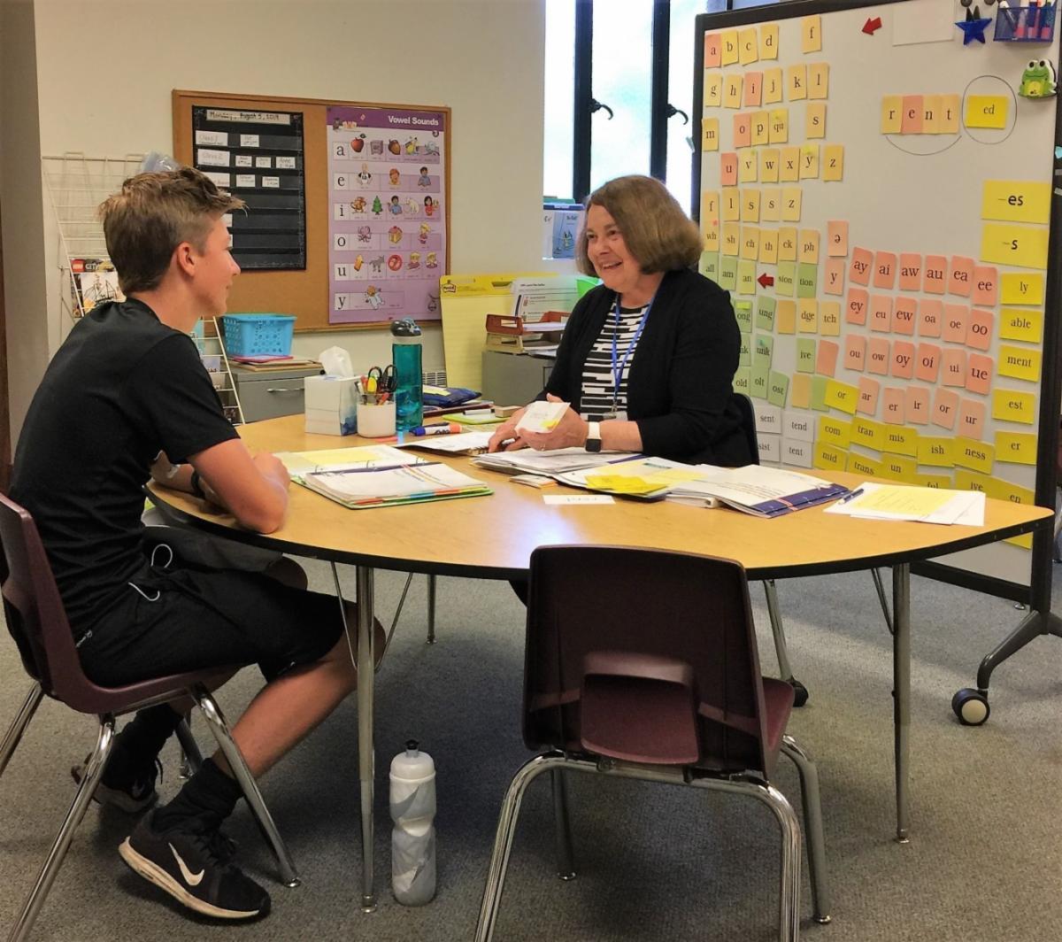 dyslexia tutoring image