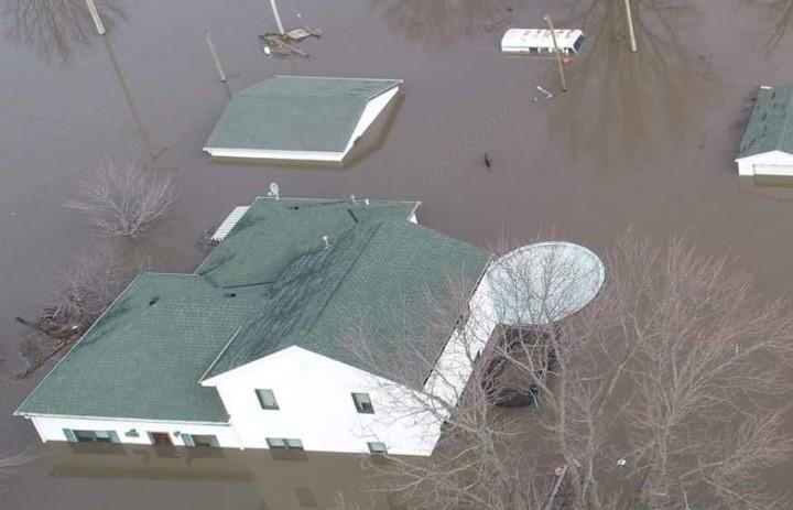 Flooding in Iowa image