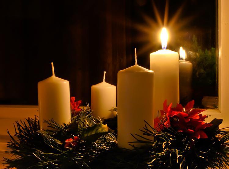 Advent wreath image