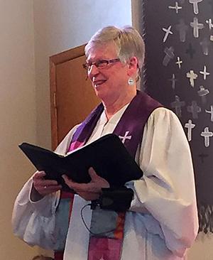 Pastor Mary Gafner image