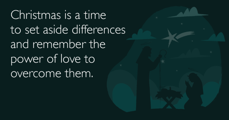 Dorhauer christmas message quote image