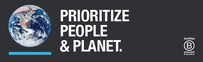 people & planet b corp graphic