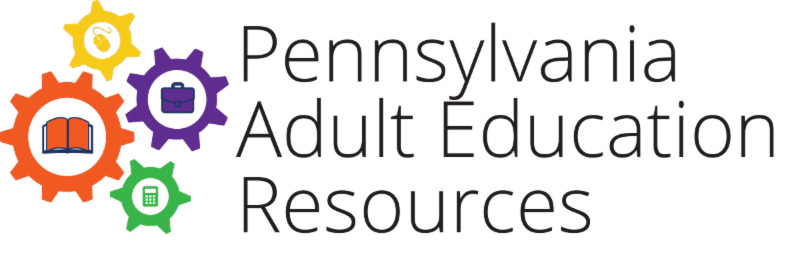 This is the logo for the Pennsylvania Adult Education Resources