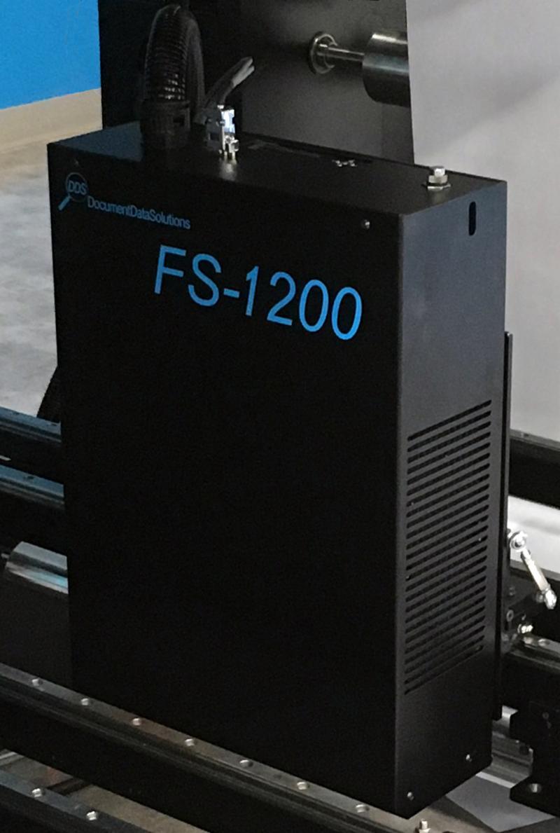 FS-1200 on press