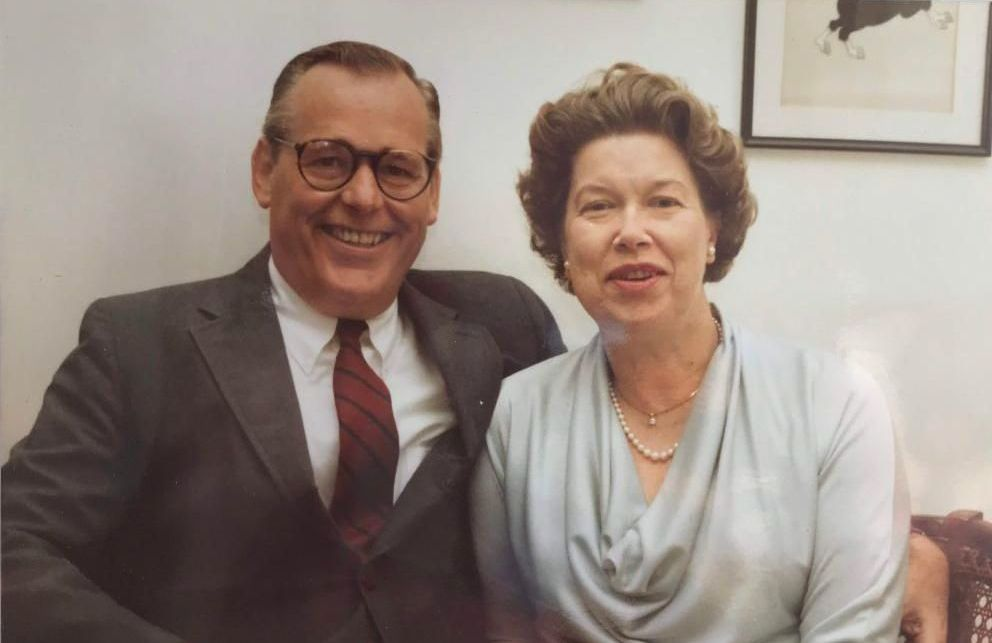 photo of Mary and Gordon Nelson, honored by Scouller/Nelson Fund