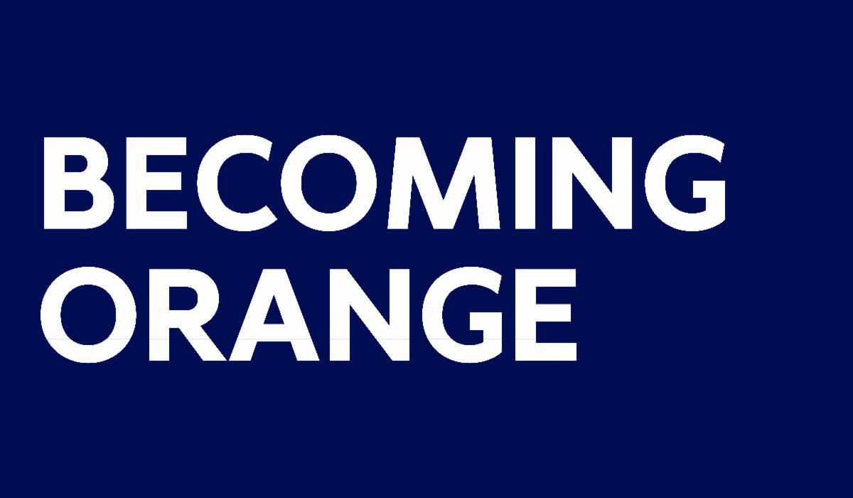 Becoming Orange