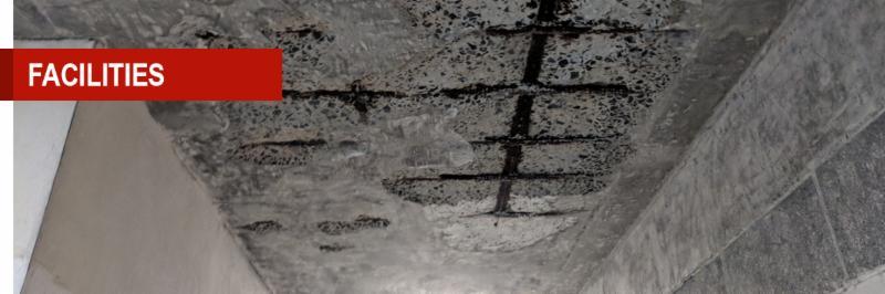 Building Concrete Ceiling Damage