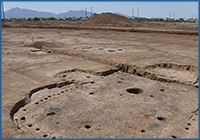 Imprint of Hohokam structure