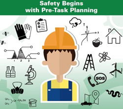Safety Begins with Pre-task Planning