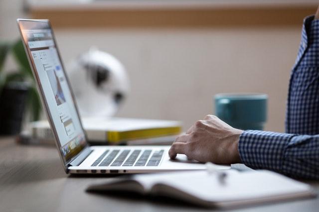 working-at-laptop