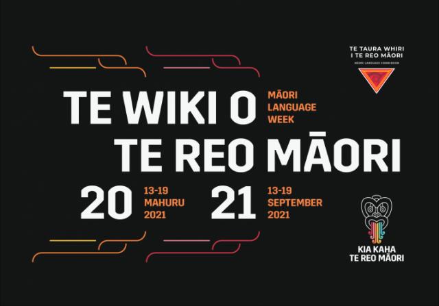 Te Wiki o te Reo Māori 2021 logo