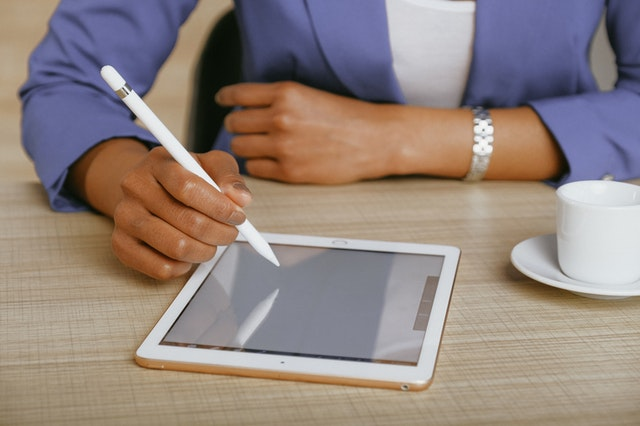 writing-on-tablet