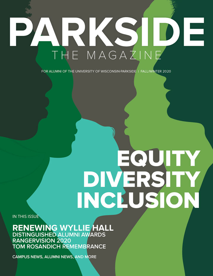 Parkside The Magazine cover