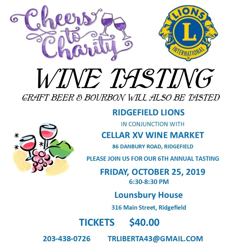 Cheers to Charity- Lions Club 2019 edited