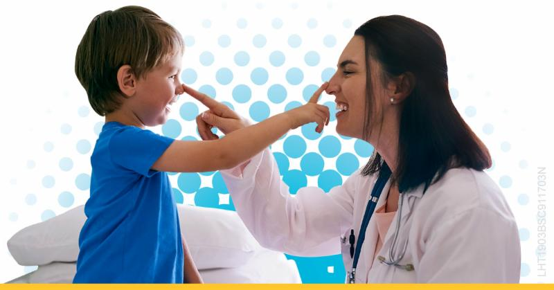 Provider and child patient