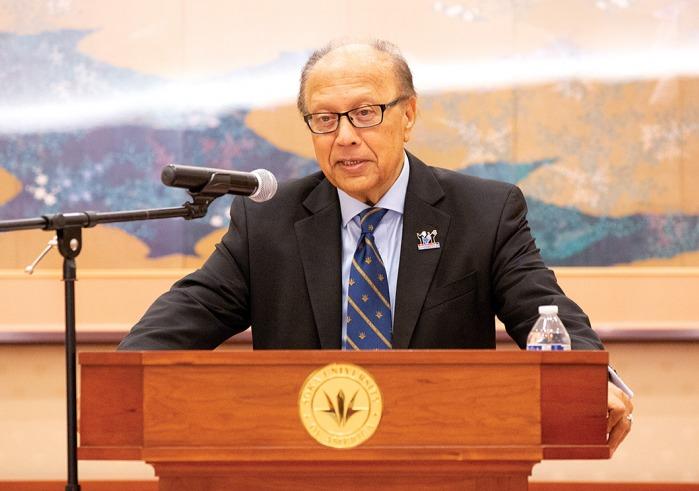 Ambassador Chowdhury speaks at dialogue