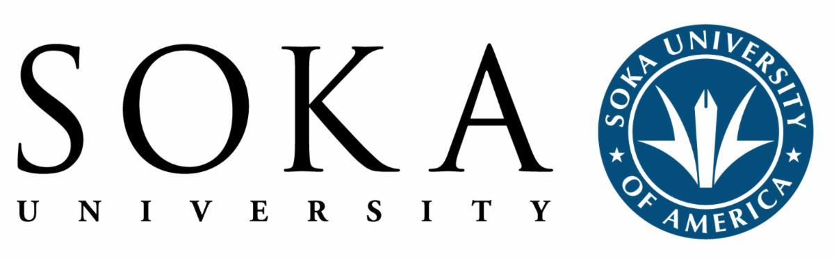 Soka University of America logo