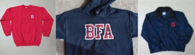 bfa sweatshirts