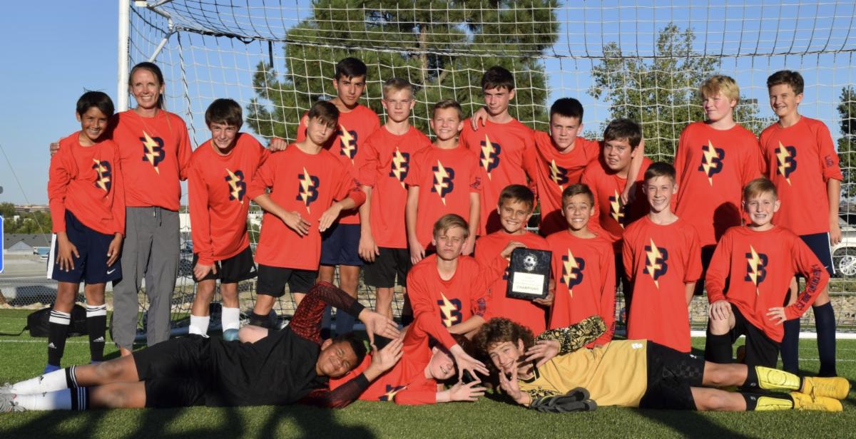Boys soccer champs 2019