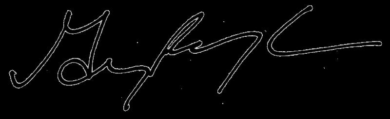 Greg Waugh Signature