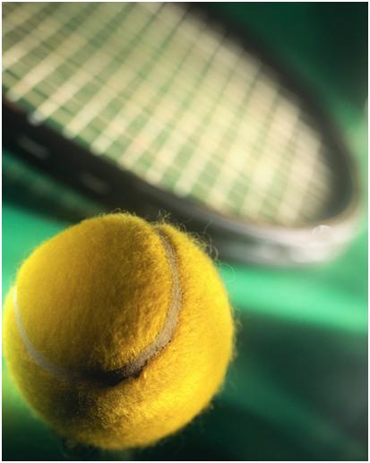 Tennis Ball & Racquet Picture